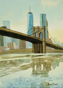 """Brooklyn Bridge"" - Sarah Kiczek"