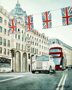 """London"" - Sarah Kiczek"