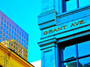GRANT AVE SAN FRANCISCO - SHAUNS ART