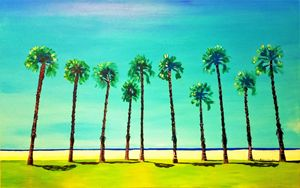 VENICE BEACH PALMS USA