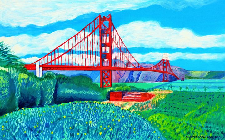 GOLDEN GATE BRIDGE - SHAUNS ART