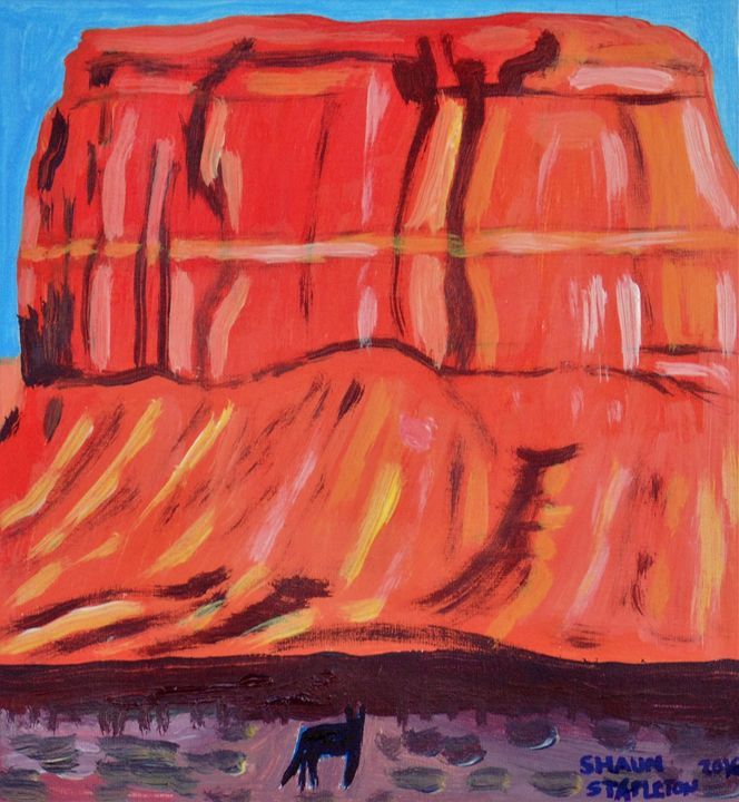 MONUMENT VALLEY USA - SHAUNS ART