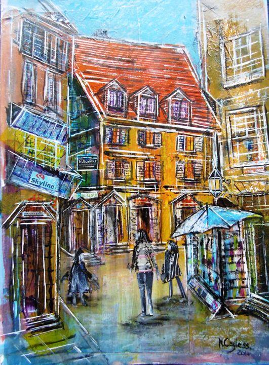 German City Centre Street - Martin Cayless