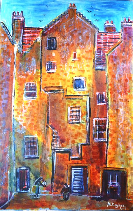 Old House, Water's Close. Edinburgh. - Martin Cayless