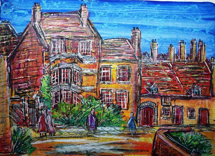 Village old houses - Martin Cayless