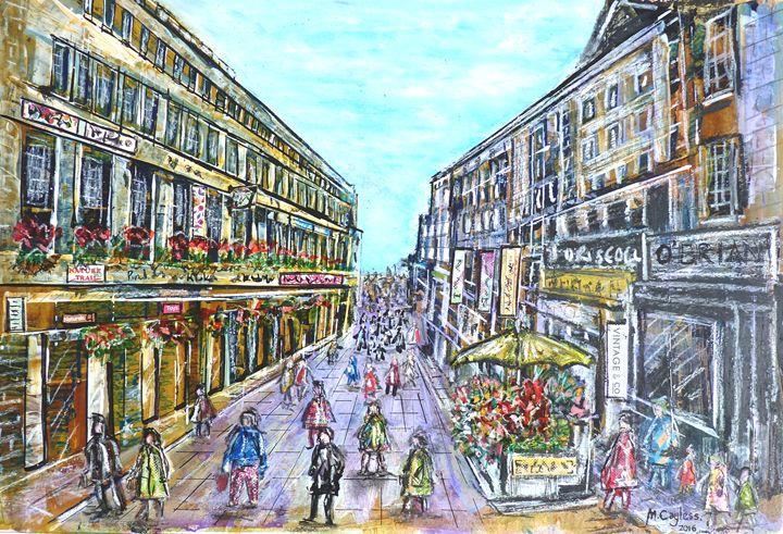 Town centre shops - Martin Cayless