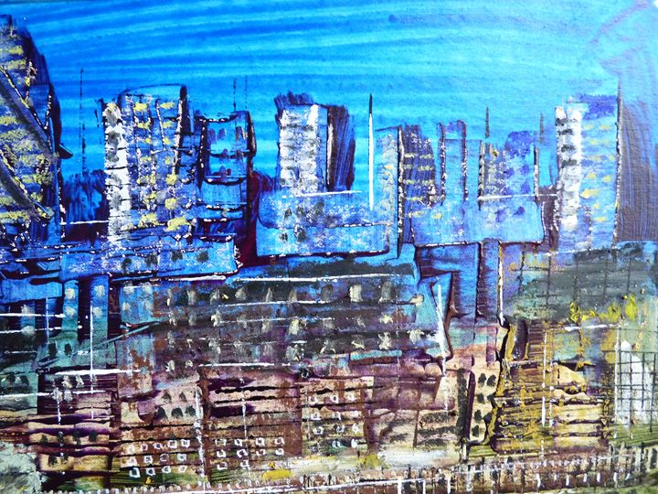 City at Dusk - Martin Cayless