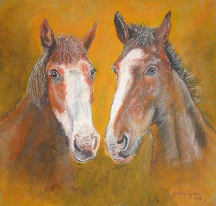 Two Horses - Martin Cayless