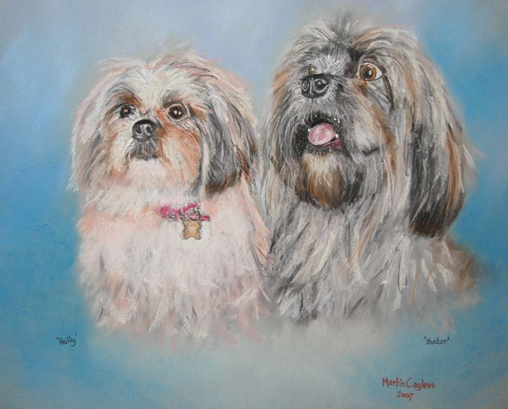 Holly & Buster - Martin Cayless