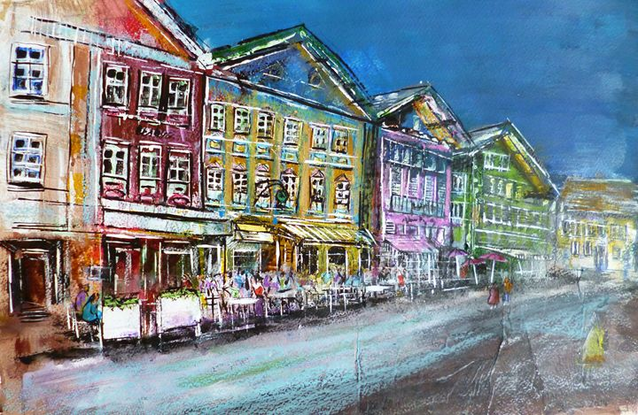 German City Scene (10) - Martin Cayless