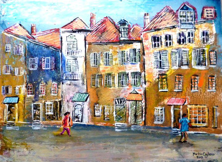 German City Scene (2) - Martin Cayless