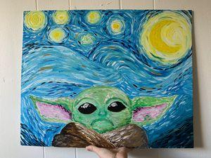 Starry Mandalorian Night