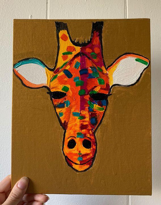Abstract Giraffe - Bailey's Art