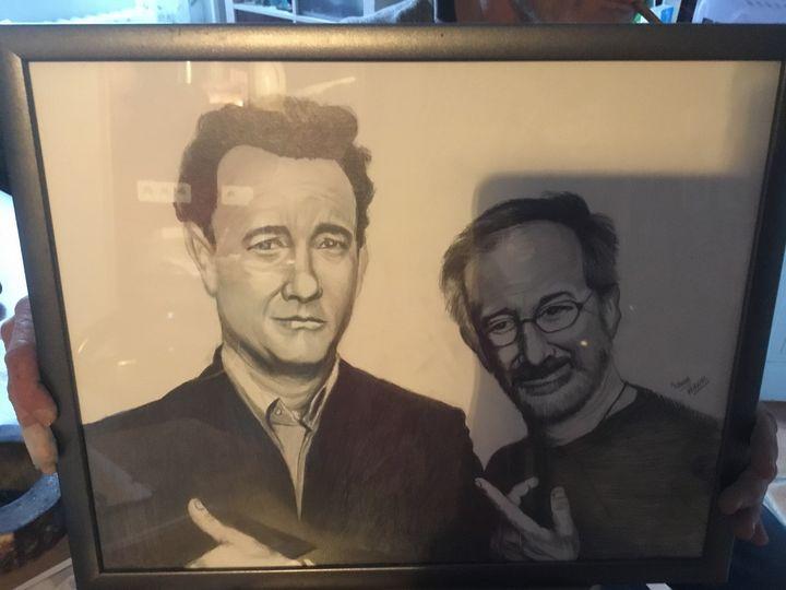 Tom Hankc and Steven Spielberg - NANAS