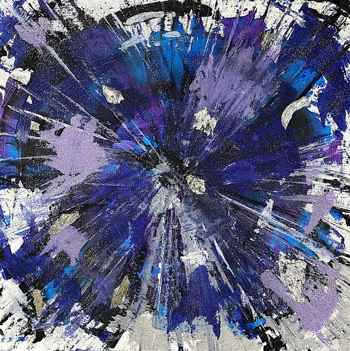 BLU STAR - Sarah Arensi Artworks