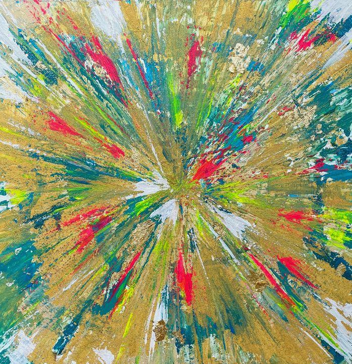 RAINBOW STAR - Sarah Arensi Artworks