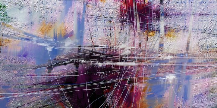 A163a - ABSTRACTION - Alexis Digart