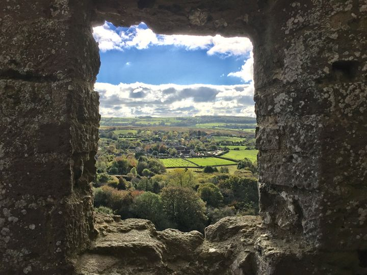 Castle view - England Photography