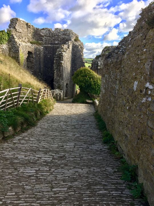 Cobbled path - England Photography
