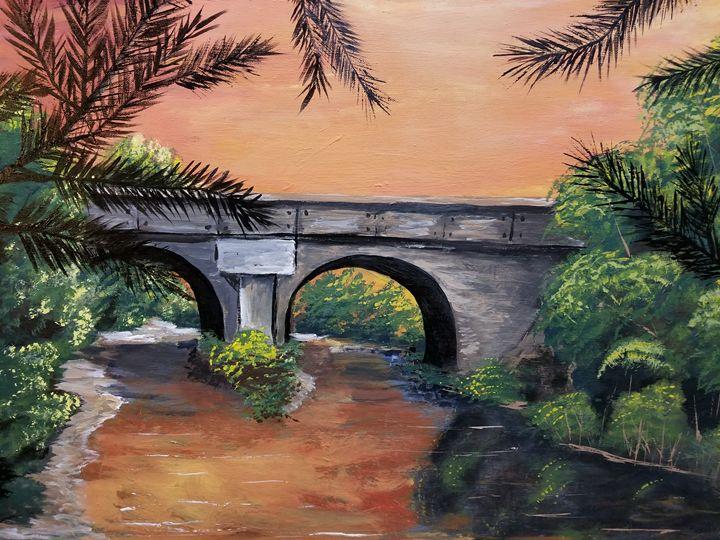 Bridge of thought - Maranda's art