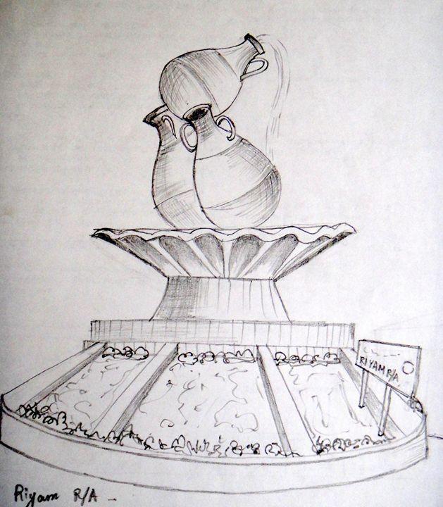 The water pots, Riyam R/A Muscat - Art Arcade