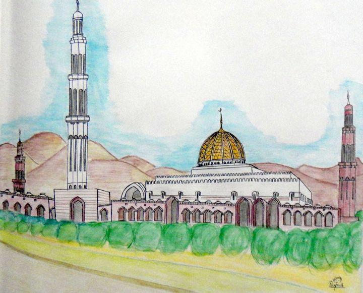 The Sultan Qaboos Grand Mosque - Art Arcade