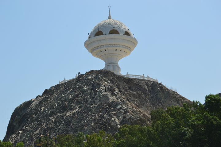 The Watchtower in Muscat - Art Arcade