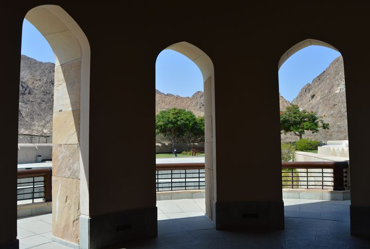 View from the arches - Art Arcade