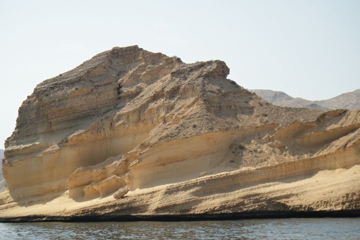 The Rock  - Qantab Beach Oman - Art Arcade
