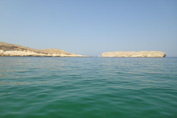 The rocks - Qantab Beach Oman - Art Arcade