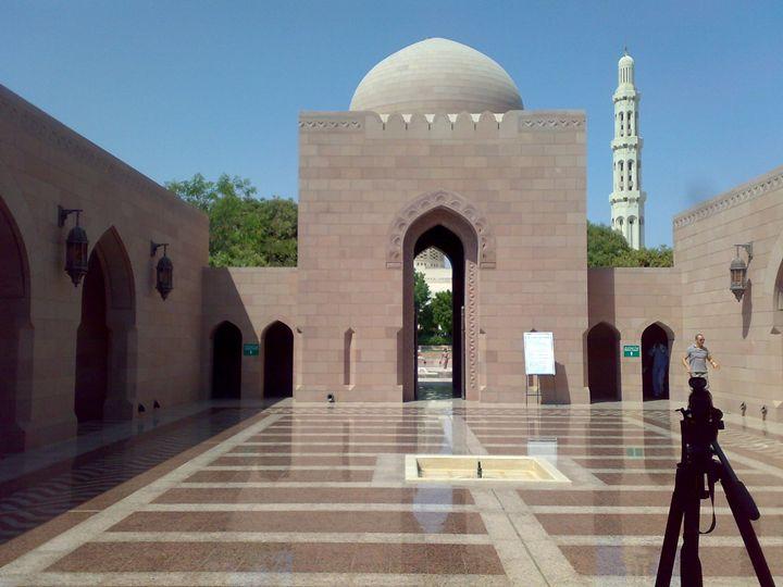 A Portico in Mosque - Art Arcade