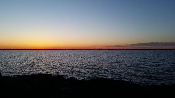 Sunset on Oak Lake - LoveandtHeart