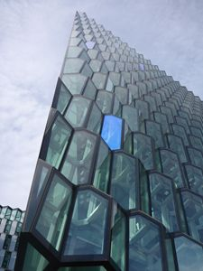Glass Facade Harpa