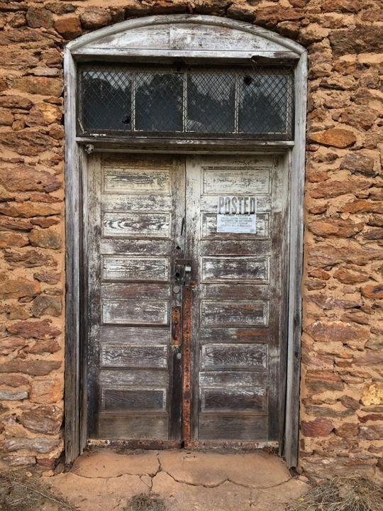 Abandoned Door - Haus Collins