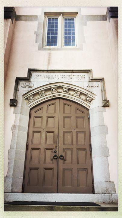 St James Parish Doors - Haus Collins