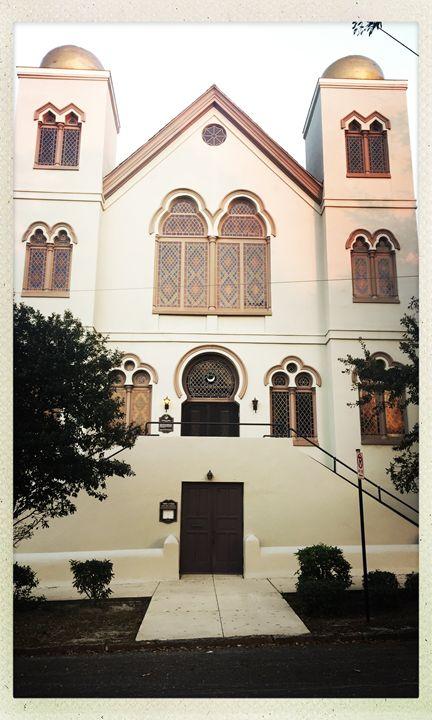 Jewish Temple - Wilmington NC - Haus Collins