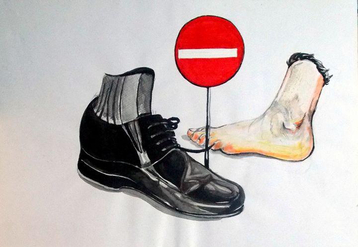 Quo Vadis - Lazaro Hurtado Art