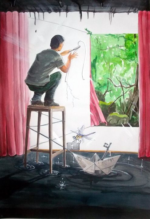 Shaping the Peace - Lázaro Hurtado Art