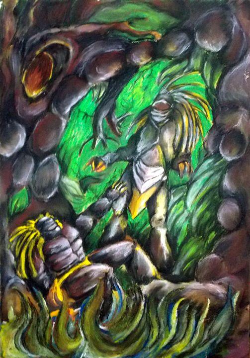 Back in time - Lazaro Hurtado Art