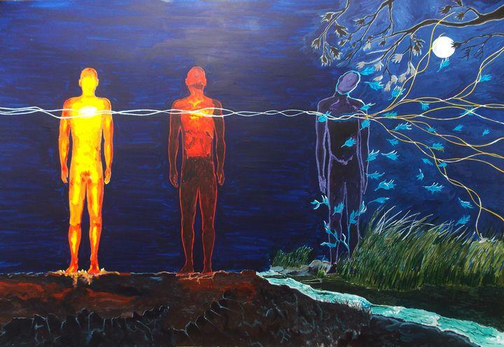To cease, or the dispersion of energ - Lazaro Hurtado Art