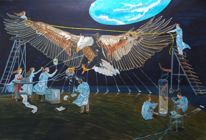 State of emotion, animal biology - Lazaro Hurtado Art