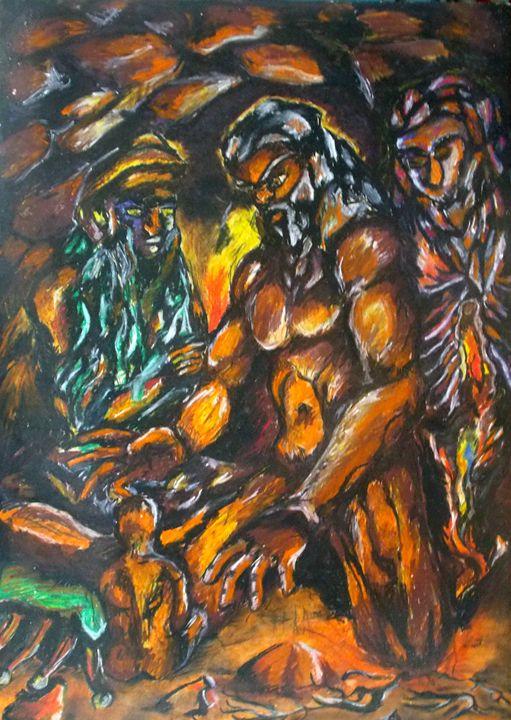 Creation - Lázaro Hurtado Art