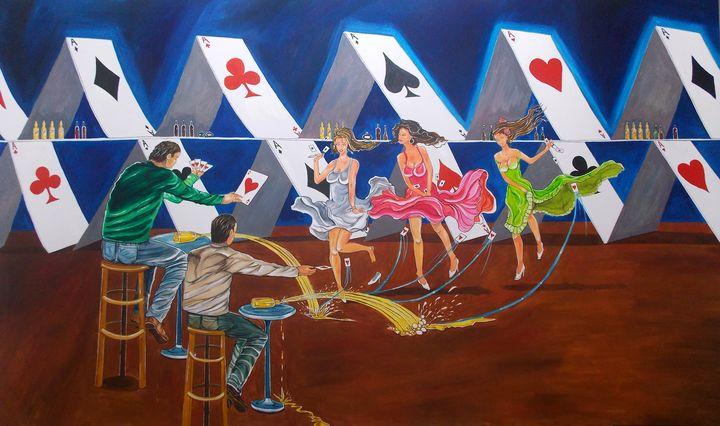 Commission to Indonesia - Lazaro Hurtado Art