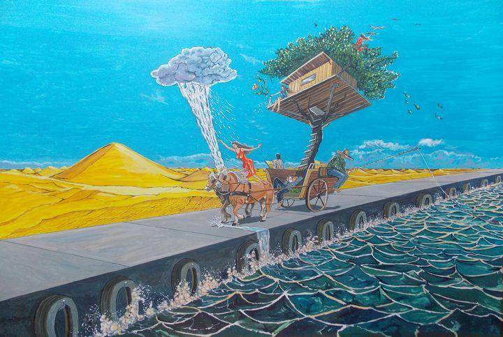The ride of passions - Lazaro Hurtado Art
