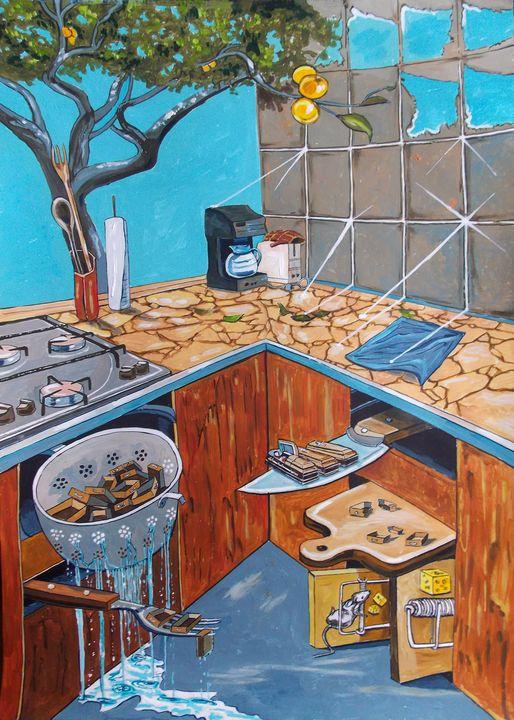 Visions lurking in common places - Lazaro Hurtado Art