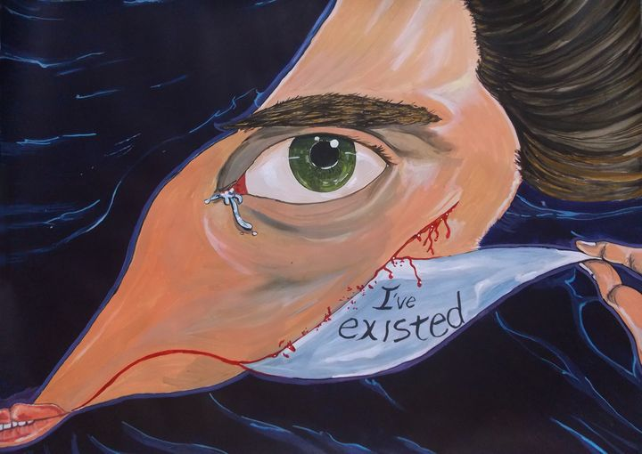 I existed - Lazaro Hurtado Art