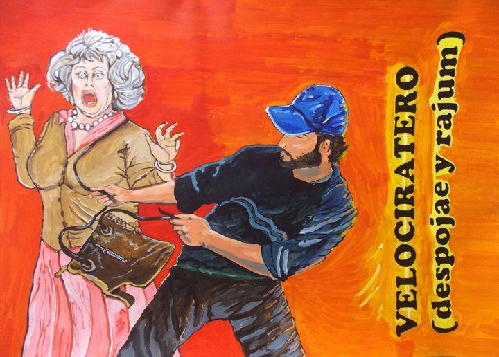 Velociratero - Lázaro Hurtado Art