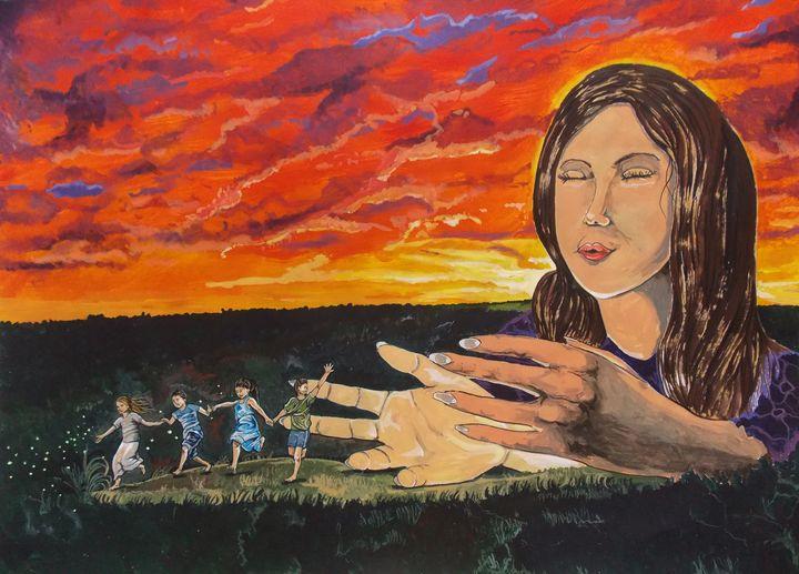 Motherly Breeze - Lazaro Hurtado Art