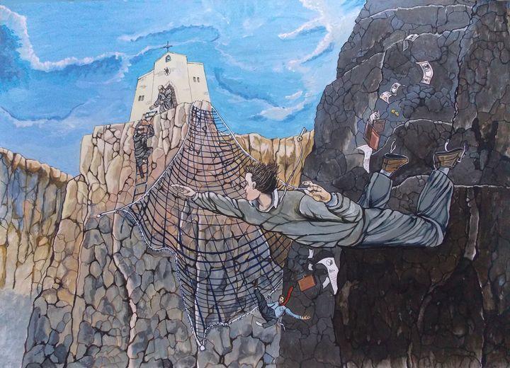 Leap of Faith - Lazaro Hurtado Art