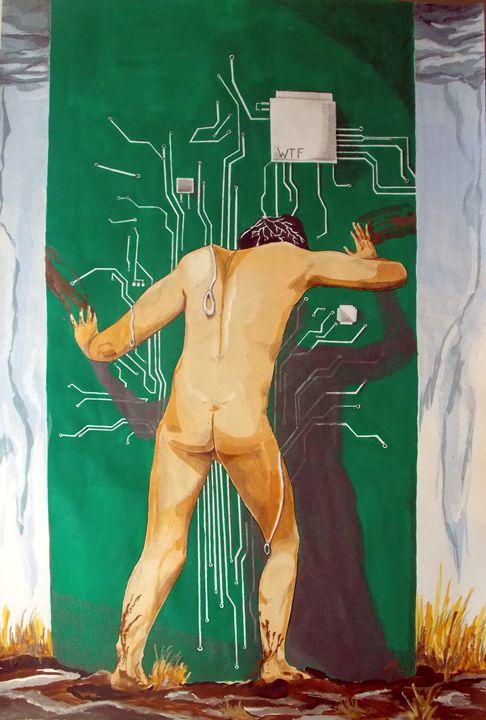 WTF - Lazaro Hurtado Art